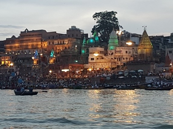 Ganga near Benares